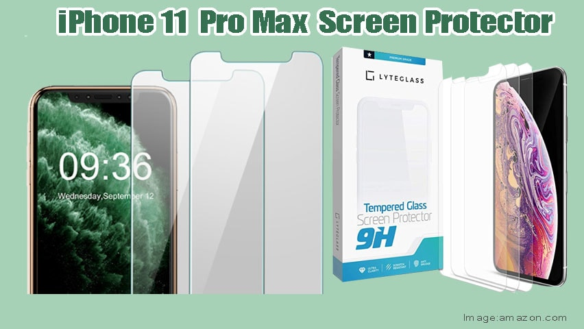 Ultra Clarity Case Friendly 3-Pack Clear Air Bubble Free HD Tempered Glass Screen Protector Scratch Protection LYTEGLASS Screen Protector for iPhone 11 Pro Max//iPhone Xs MAX