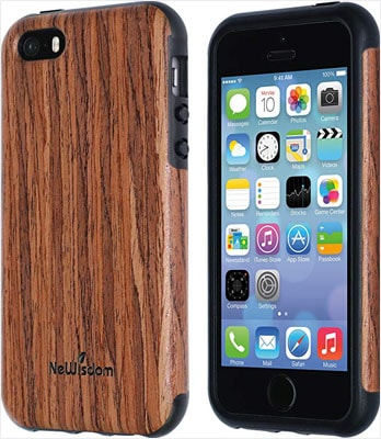 cover iphone se wood
